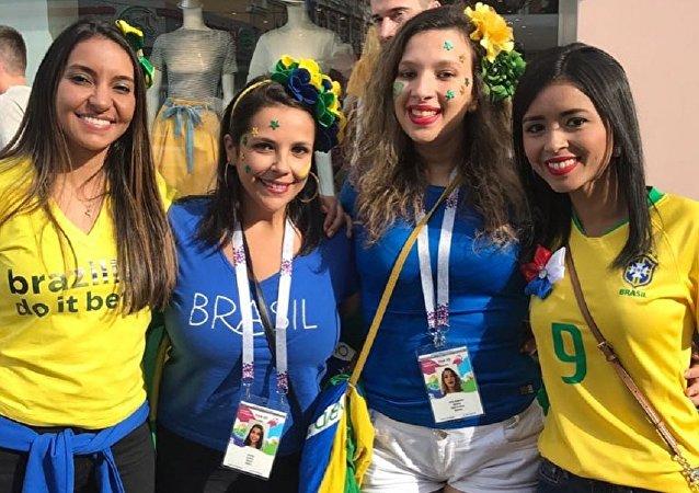 El grupo Elas na Copa
