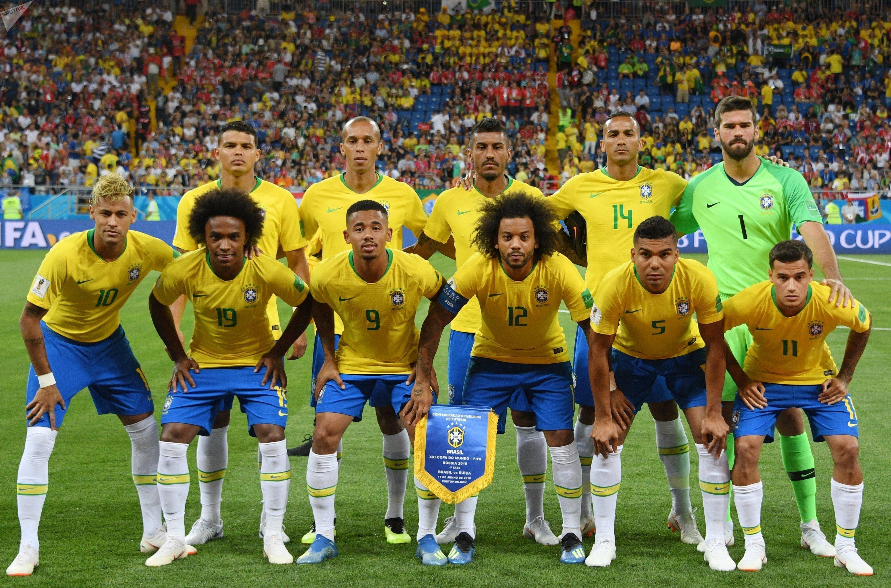 Equipo de Brasil en Rusia 2018