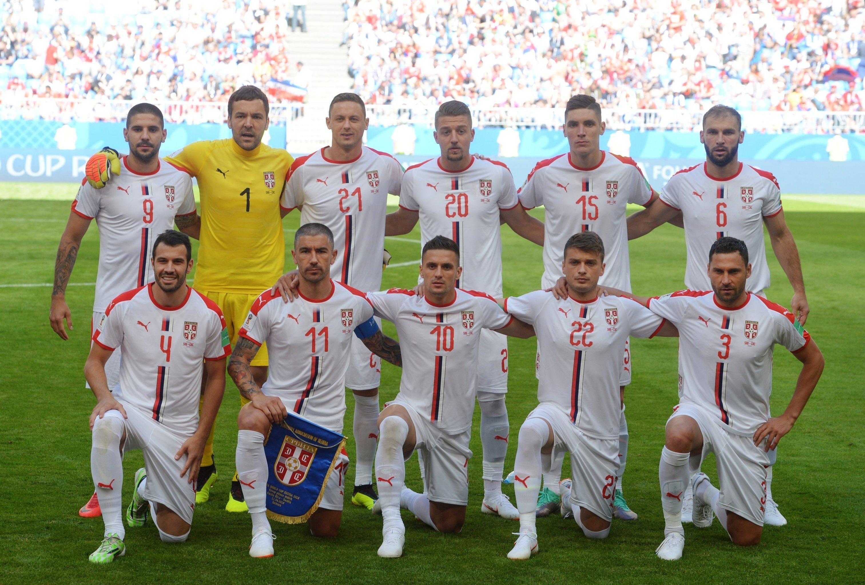 El equipo de Serbia en Rusia 2018