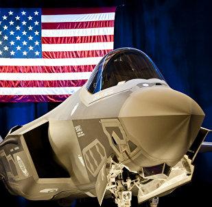Caza F-35 estadounidense