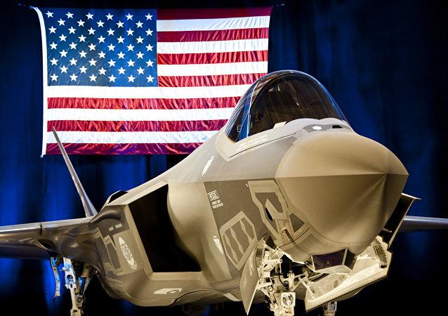 Caza F-35 estadounidense (archivo)
