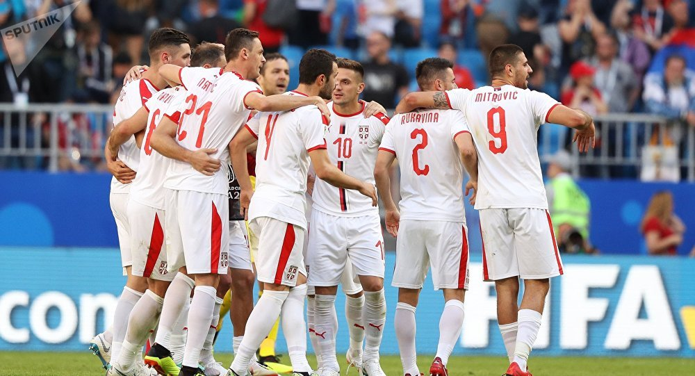 el ministro de deportes de serbia asistir 225 al partido
