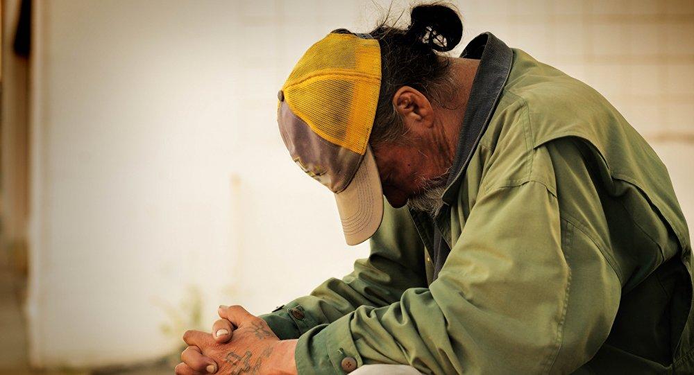 Una persona pobre (imagen referencial)