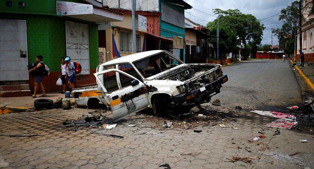 Protestas en Masaya, Nicaragua