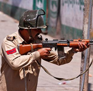 Un policía indio (imagen referencial)