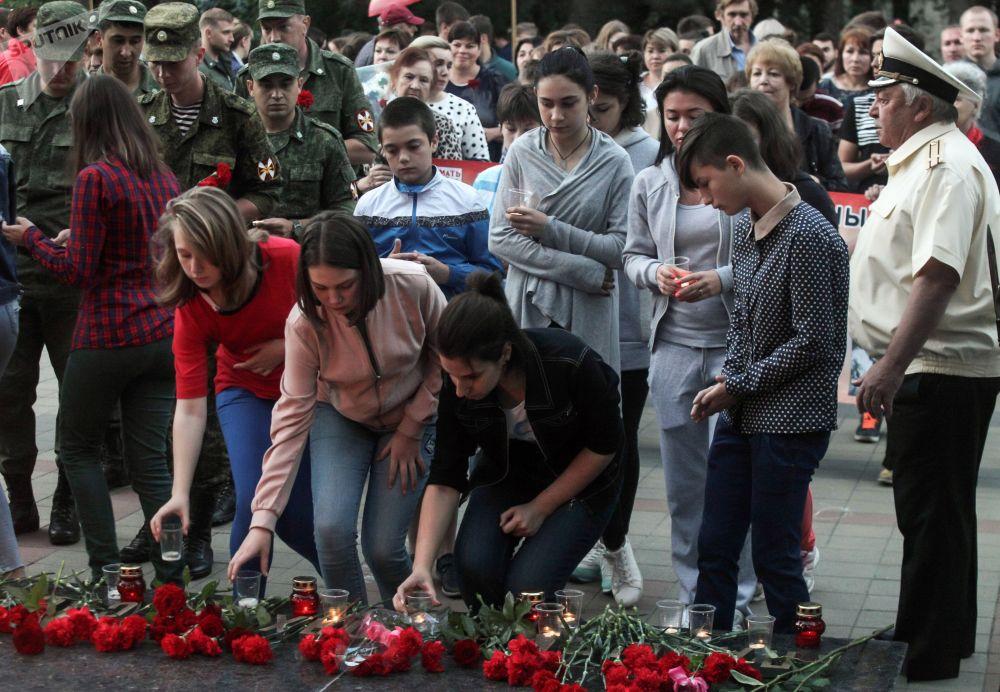 Así conmemoraron las ciudades rusas el inicio de la Gran Guerra Patria