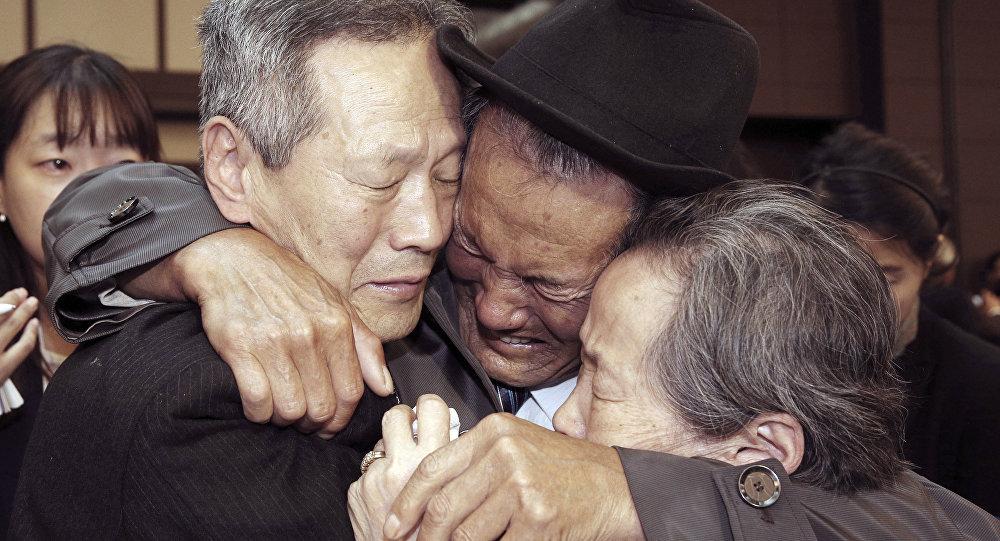 Reunión de familias separadas de Corea del Sur y Corea del Norte