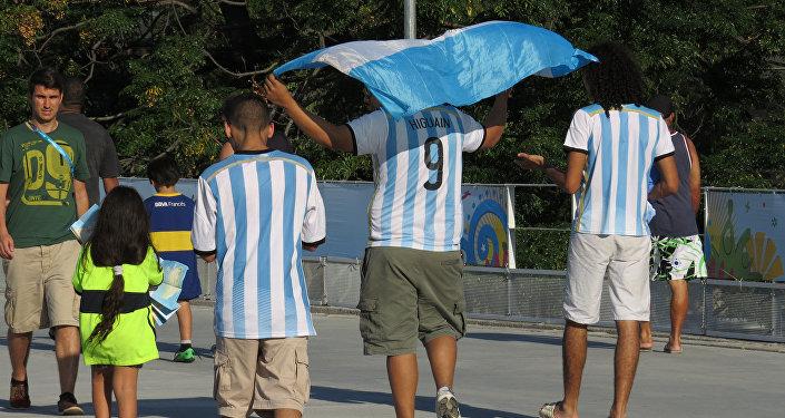 Turistas argentinos (archivo)