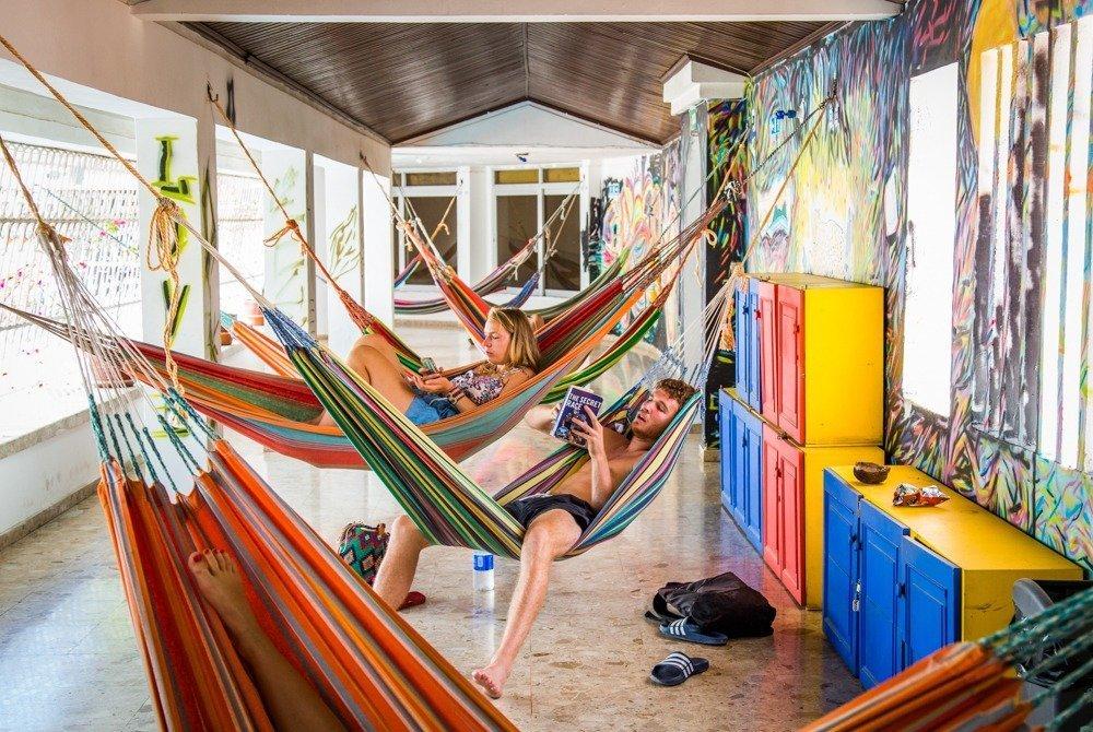 El Drop Bear Hostel de Santa Marta, en Colombia