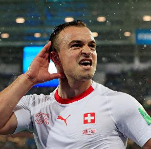 Xherdan Shaqiri, jugador de la selección de Suiza