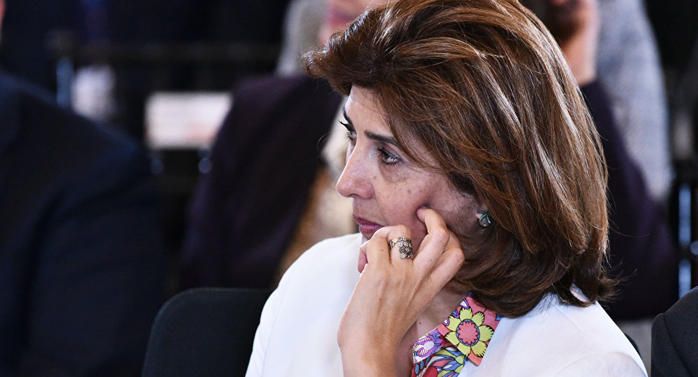 María Ángela Holguín, ministra de Exteriores de Colombia (archivo)