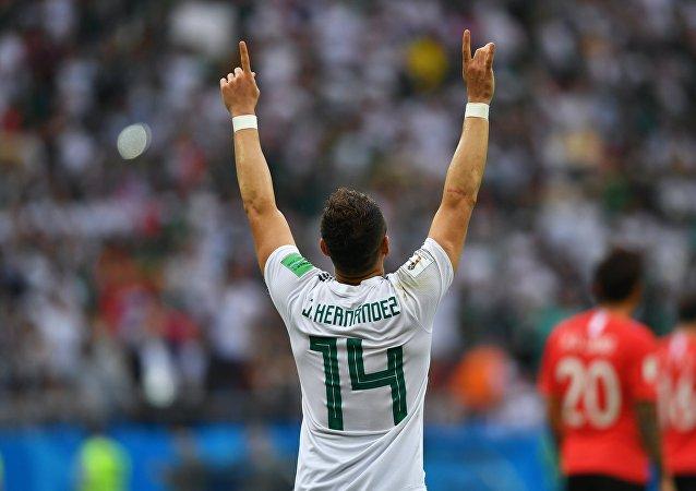 Javier Hernández Balcázar, conocido deportivamente por su apodo Chicharito