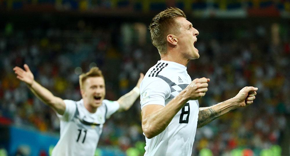 Jugadores de las selecciones de Alemania