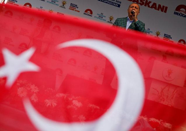 La bandera turca