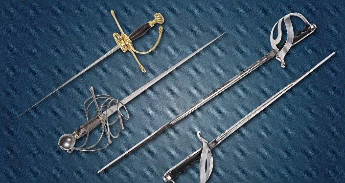 Unas espadas antiguas, referencial