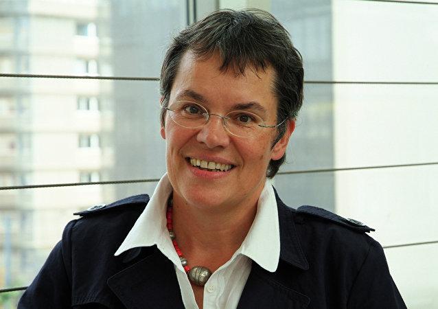 Liliane Maury Pasquier, la presidenta de la Asamblea Parlamentaria del Consejo de Europa (PACE)