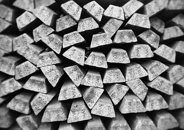 Las barras de plata