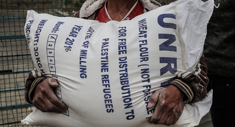 La ayuda humanitaria de la UNRWA
