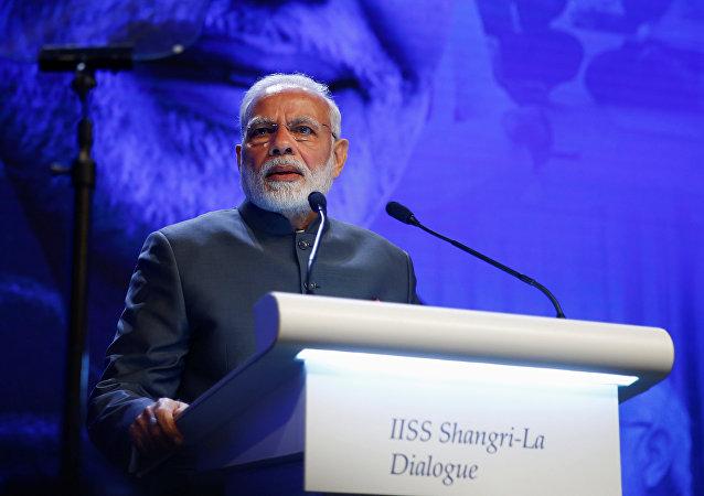 Narendra Modi, primer ministro indio