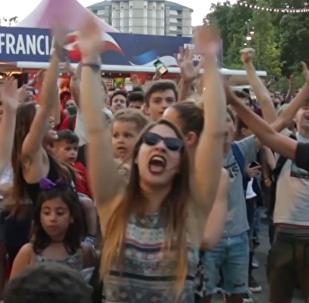 Las emociones de los hinchas durante los tensos partidos del Mundial