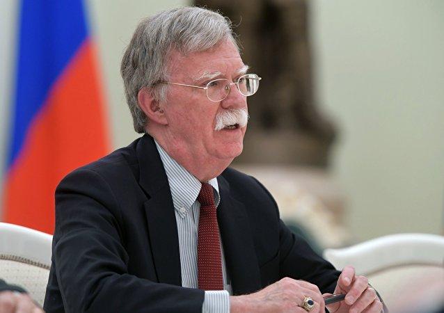 John Bolton, el asesor de la presidencia norteamericana para la Seguridad Nacional (archivo)