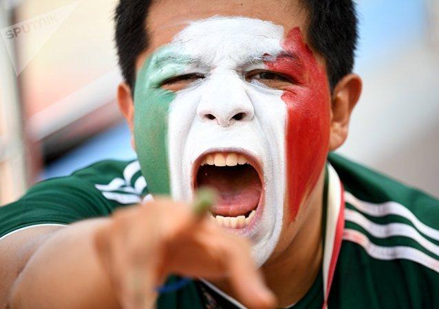 Hincha de la selección de México