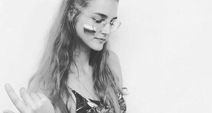 Katia Bachurina, joven rusa humillada por un hincha argentino