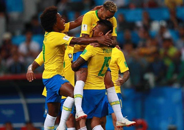 La selección brasileña