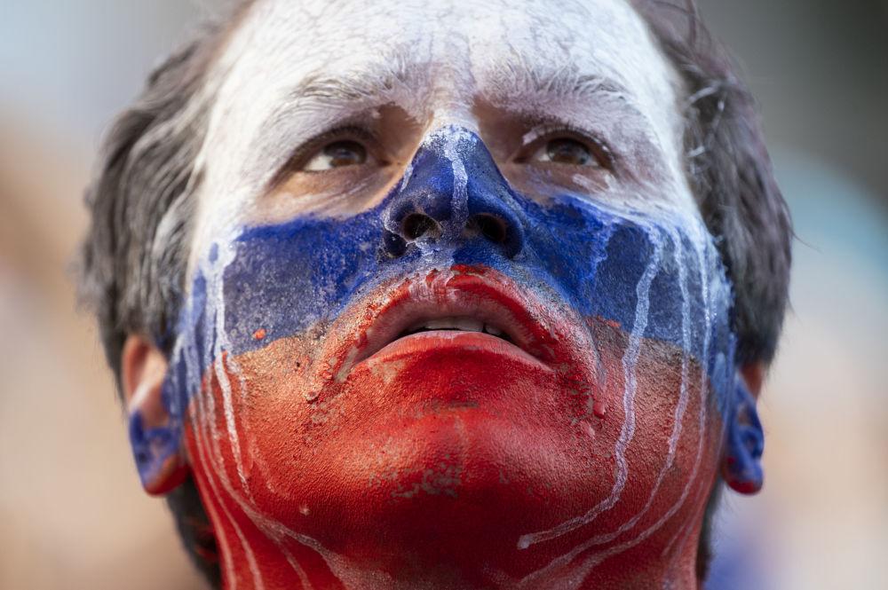 Sonrisas y lágrimas: las emociones a flor de piel de los fans del Mundial de Rusia 2018