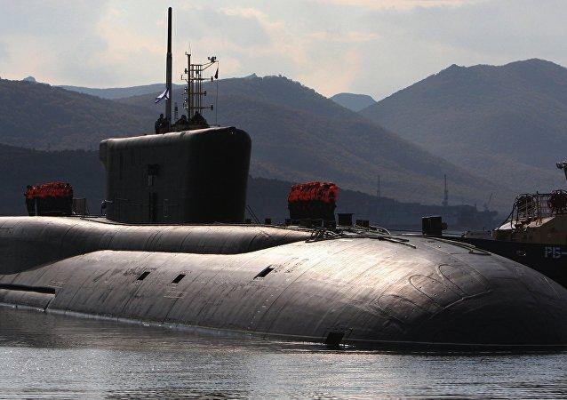 Submarino ruso Borei