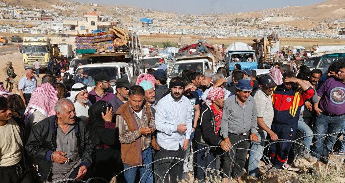 Refugiados regresan a Siria del Líbano