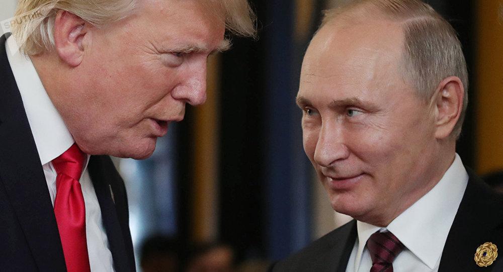 El presidente de Rusia, Vladímir Putin, y su homólogo estadounidense, Donald Trump (archivo)