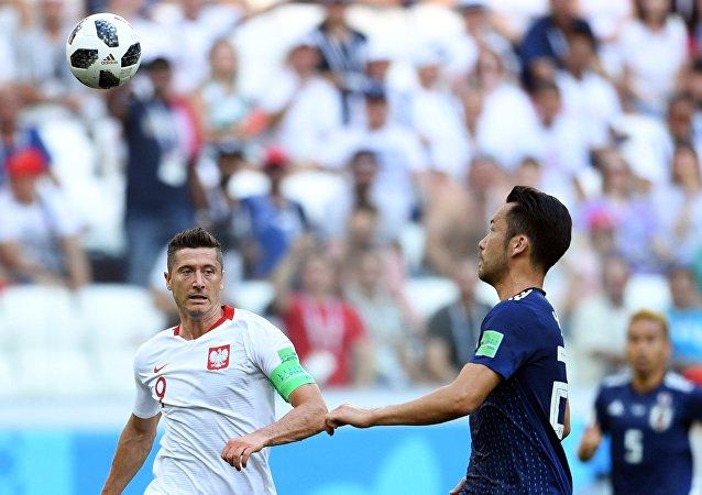 El partido entre Japón y Polonia