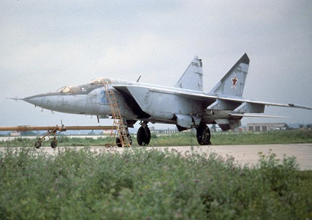 MiG-25, caza soviético (archivo)