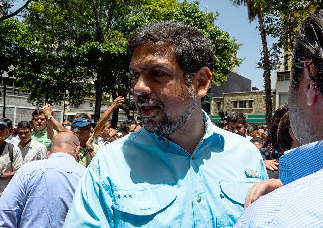 Carlos Ocariz, exacalde opositor del municipio venezolano de Sucre
