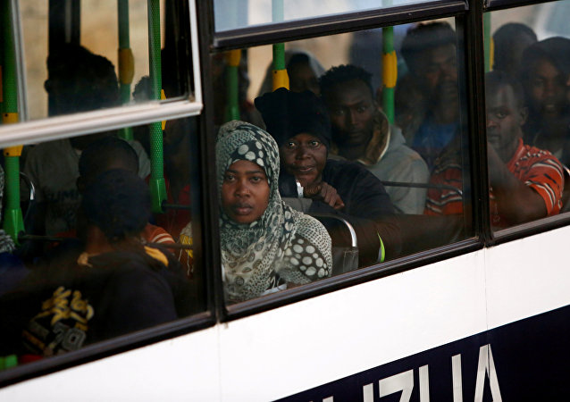 Inmigrantes en La Valeta, Malta