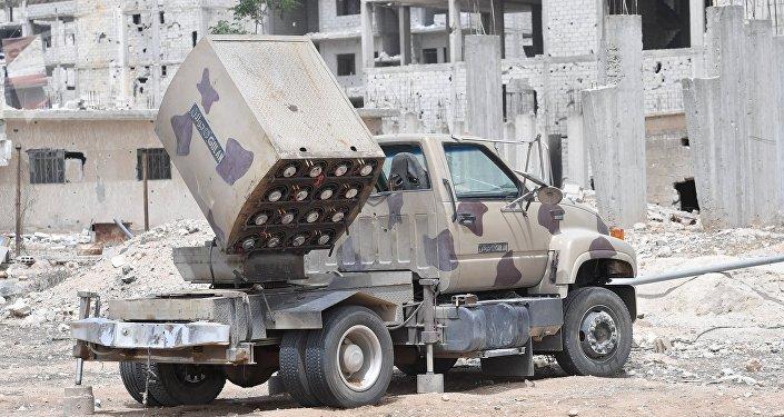 Sistema de misiles sirio Golan
