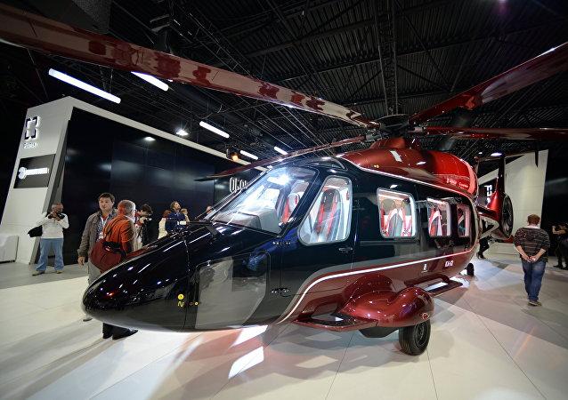 Versión civil del helicóptero Ka-62 del fabricante ruso Kamov