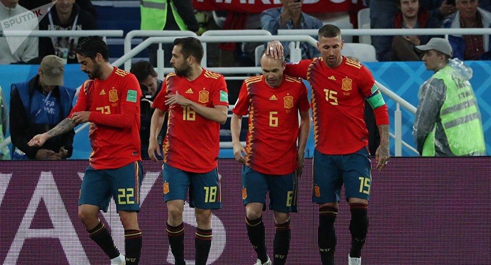 Los jugadores de la selección española en el Mundial de Rusia 2018
