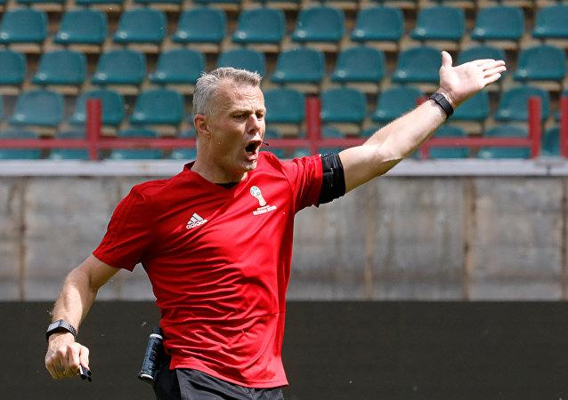 Björn Kuipers, árbitro holandés
