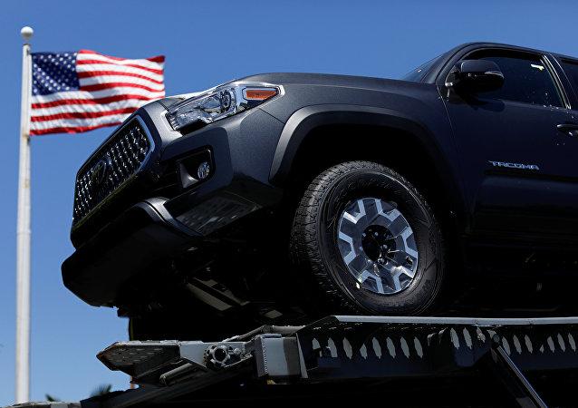 Automóvil de Toyota en EEUU