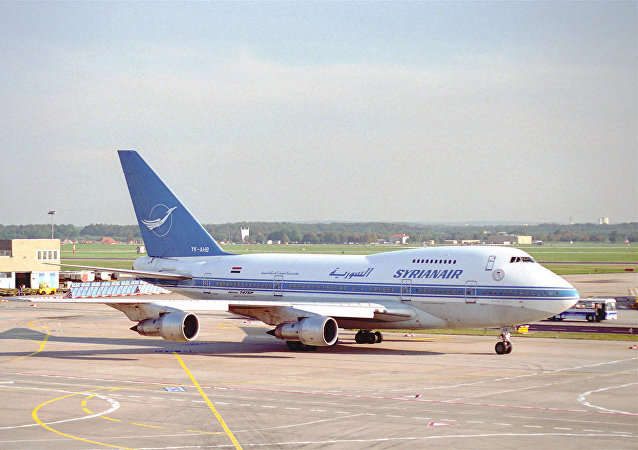 Un avión de Syrian Air