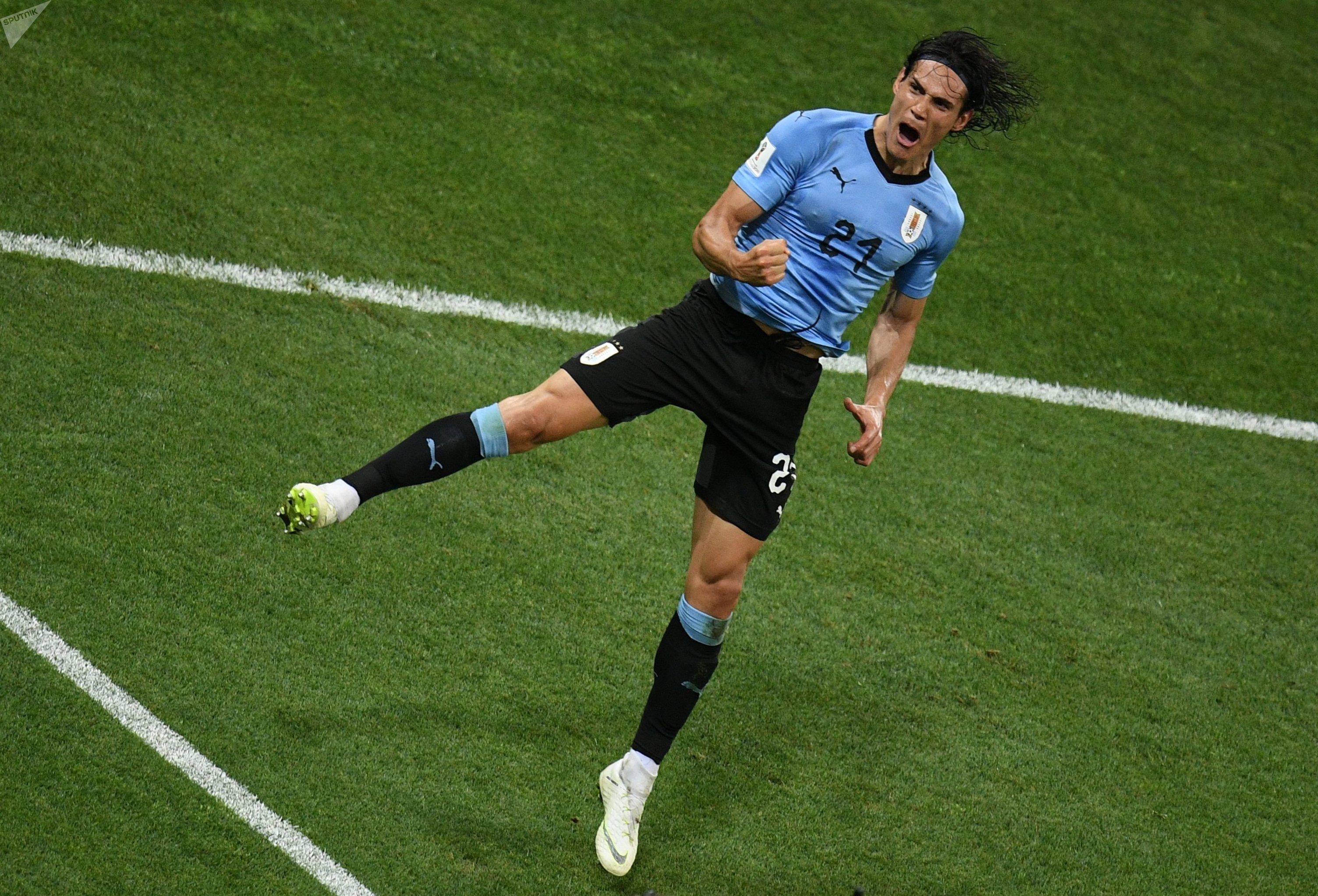 Edinson Cavani, atacante uruguayo