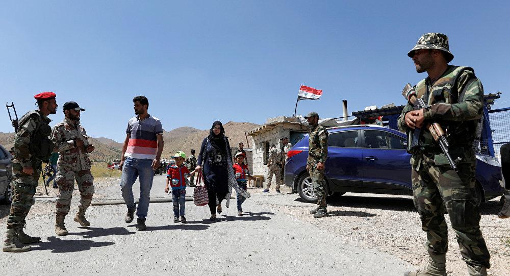 Refugiados regresan a Siria del Líbano (archivo)