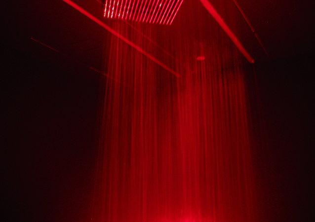 Rayos láser (imagen referencial)