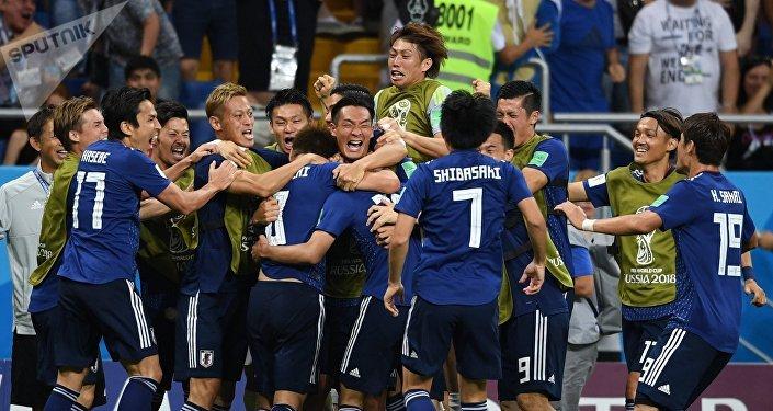 La selección japonesa