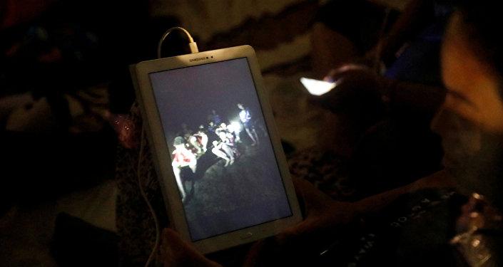 Los rescatistas de Tailandia hallaron vivos a los 12 niños y su entrenador