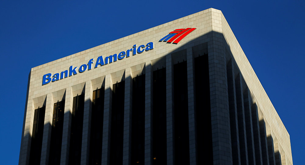 El edificio de The Bank of America (archivo)