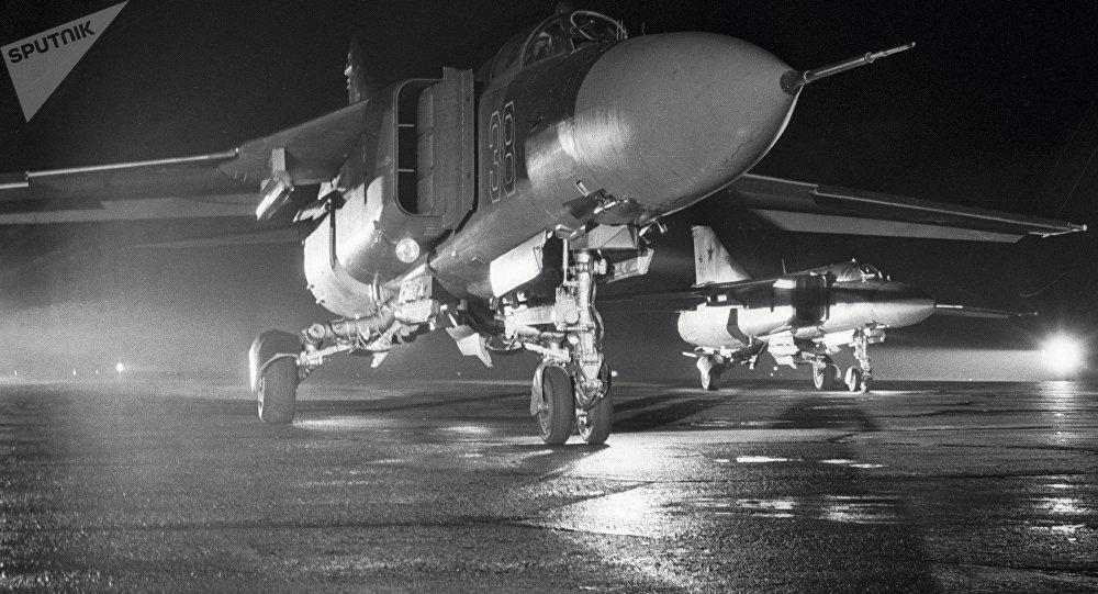 Un caza MiG-23, imagen archivo