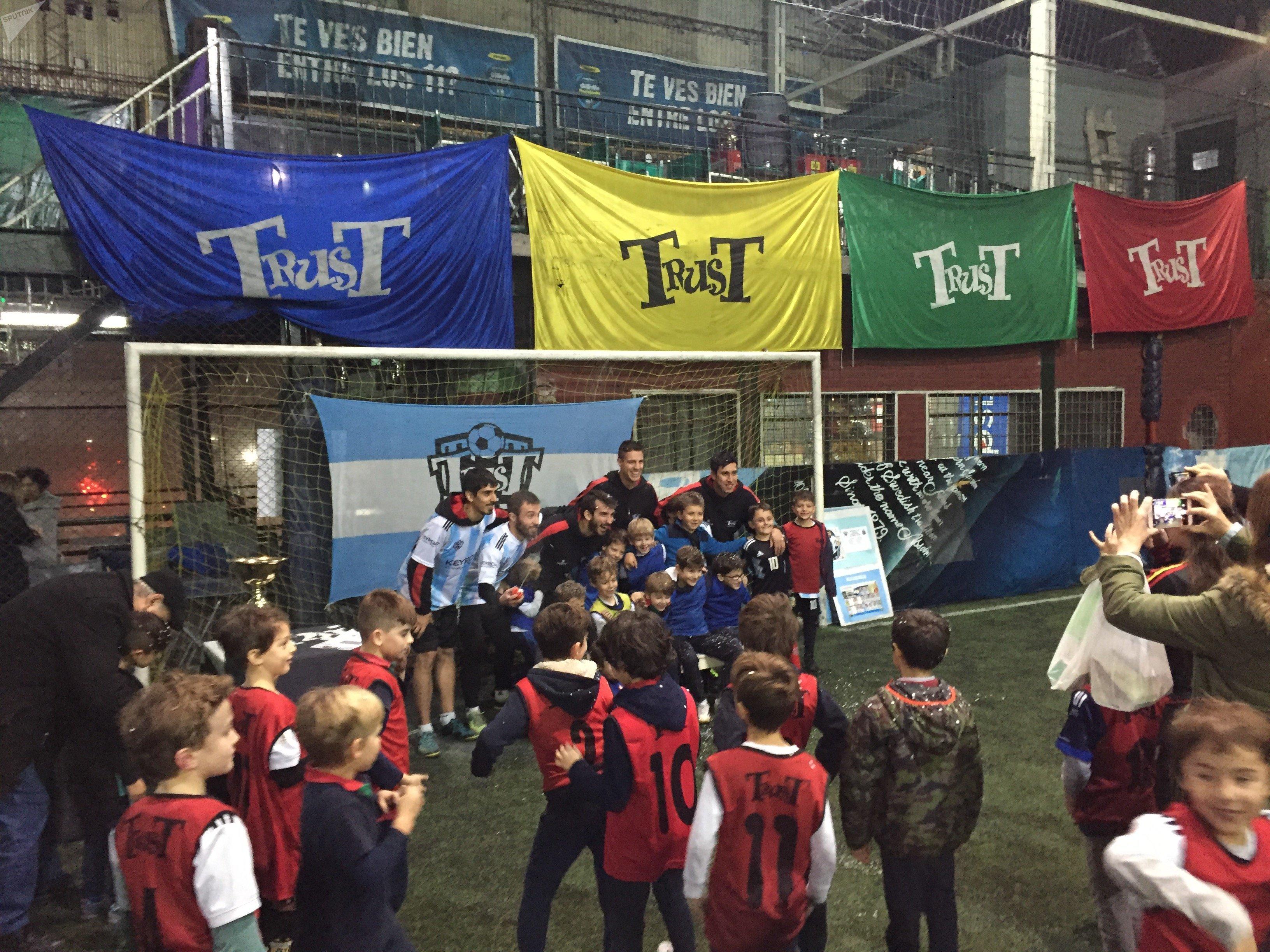Escuela de fútbol para niños, Buenos Aires, Argentina
